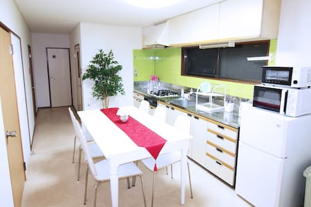 9 min to Shinjuku Sta.4bedrooms all keys.16people - Apartment