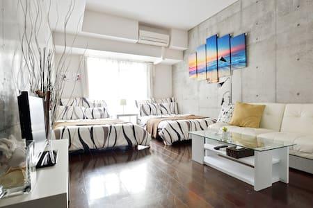 Stylish Room Near Namba ST 中央区 難波 日本橋 道頓堀 心斎橋 - Chūō-ku, Ōsaka-shi - Appartement