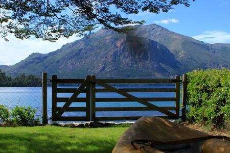 Casa con costa en Lago Gutierrez para 5 Personas - San Carlos de Bariloche