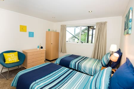 Seaview B&B Auckland, Titirangi - Twin Bedroom - Auckland