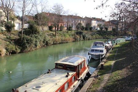 Maison au bord du Canal du Midi - Poilhes