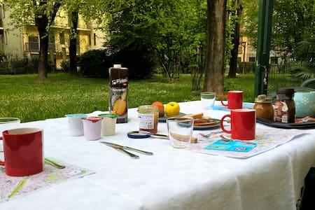 GREEN CORNER: a3min a piedi M1 e M5 - Mailand - Villa