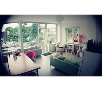 Cozy room in spacious apartment - Amsterdam - Appartamento