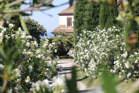 Villa with sea view 5 min from the Adriatic Sea - Campofilone - Apartment