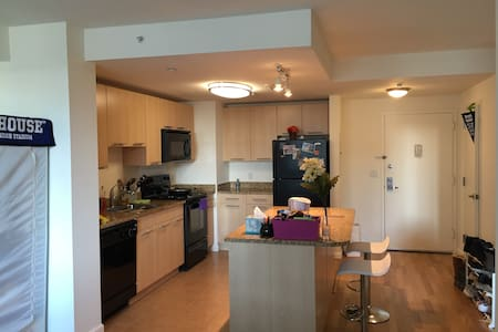 Luxury 1BR APT w/ 1 queen size bed and 1 airbed - 아파트
