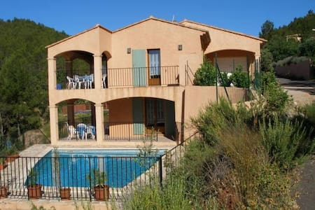 Villa in the french vineyards with a private pool - Brignoles - Vila