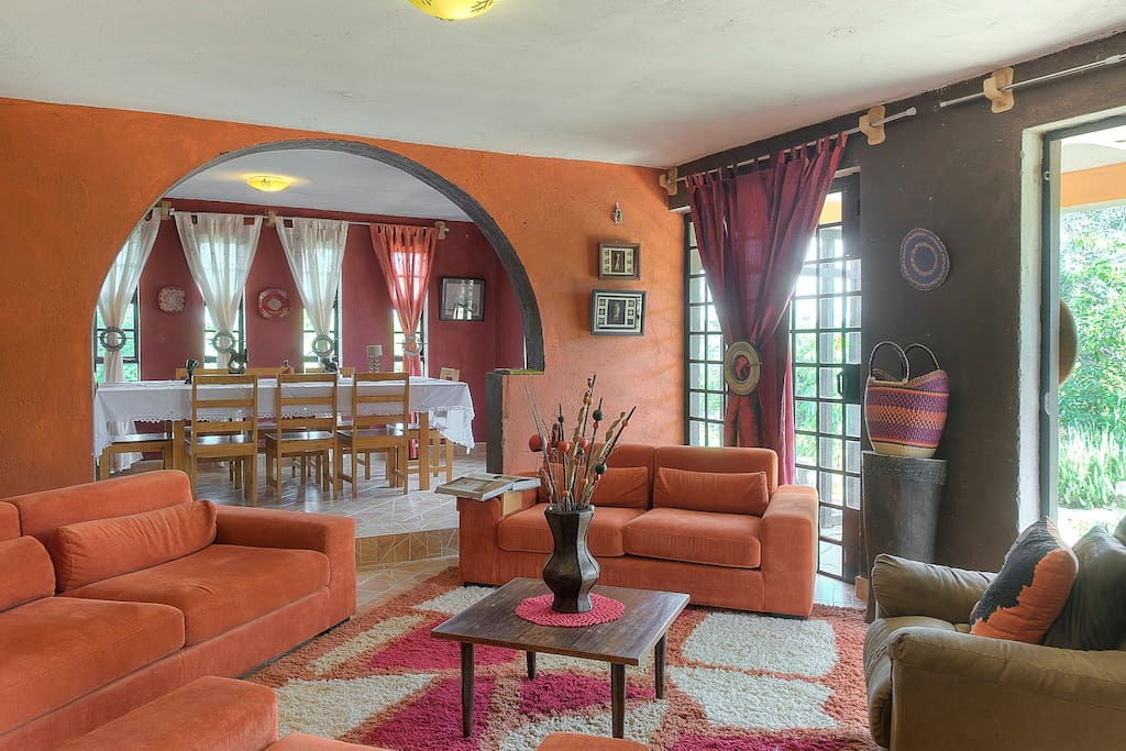 Par Kwe, An eclectic Afro Chic home