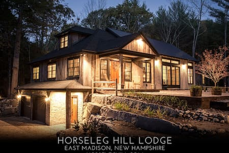 Horseleg Hill Lodge at King Pine Ski Area - Madison - House