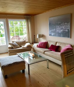 Flott leilighet i enebolig - Lier - Appartement
