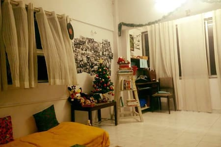 A Relaxed Chic Haven in Khar/Bandra - Lakás