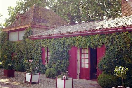 Maison de charme proche Bordeaux - Haus