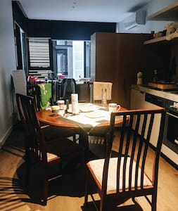 Comfortable apartment close to Melb Uni - Wohnung
