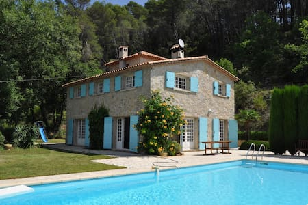 Comfortable villa with complete privacy and pool - Figanières - Villa