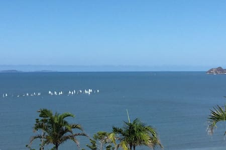 Perfect view from balcony and villa - Yeppoon