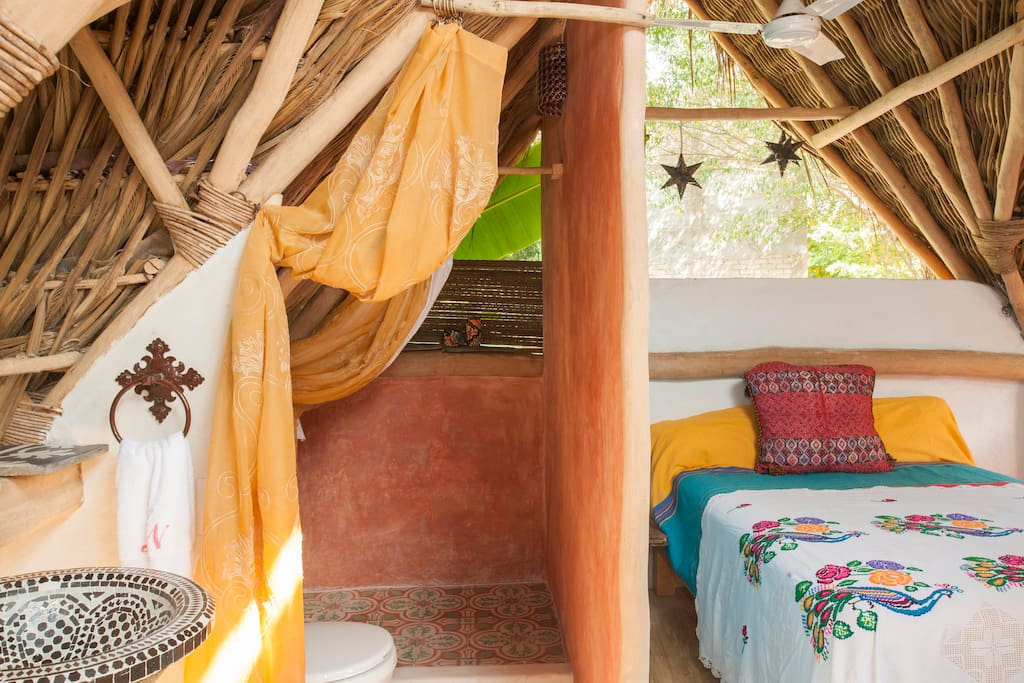 El nido the nest casa del jard n bed breakfasts for for Casa jardin sayulita
