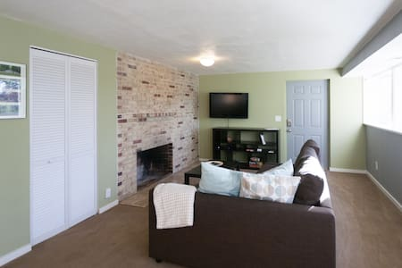 In-City Park: Private Apt Sleeps 4 - Seattle - Apartment