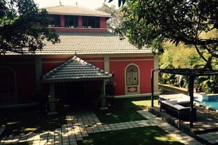 5am.Somewhere - Portugese Villa, Succoro, Goa - Villa
