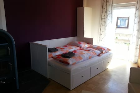 Ferienwohnung Weber mit Balkon - Bad Kissingen - Appartement