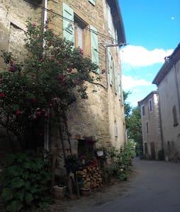 Ancienne cure village médiéval, saint A. de rosans - Adosado