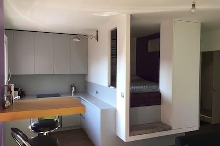 Studio atypique aux portes de Lyon - Appartement