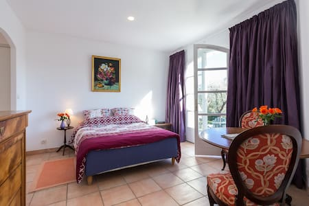 Spacious room peaceful French villa - House