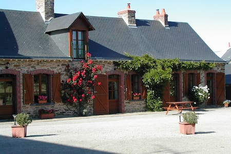 La Roulais B&B: Double room - Bed & Breakfast