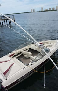 Bay Reach, on inland water way, boating provided - Lake Park - Kondominium