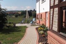 ruhige 100qm Ferienwohnung bei Eisenach, Hainich