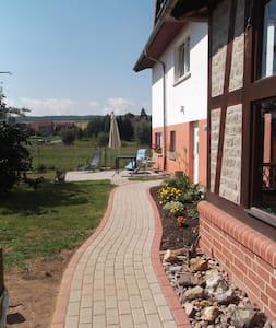 ruhige 100qm Ferienwohnung bei Eisenach, Hainich - Bischofroda - Pis