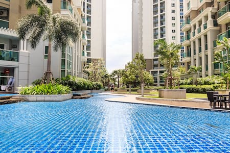 Lovely Resort-like Condo in BKK中文服务 - Kondominium