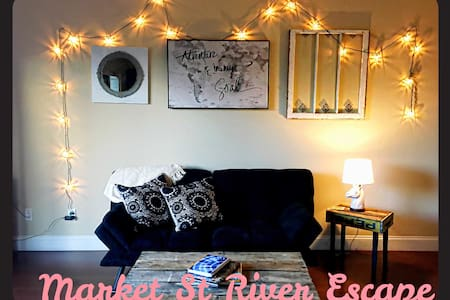 Market street river escape - Chattanooga - Wohnung