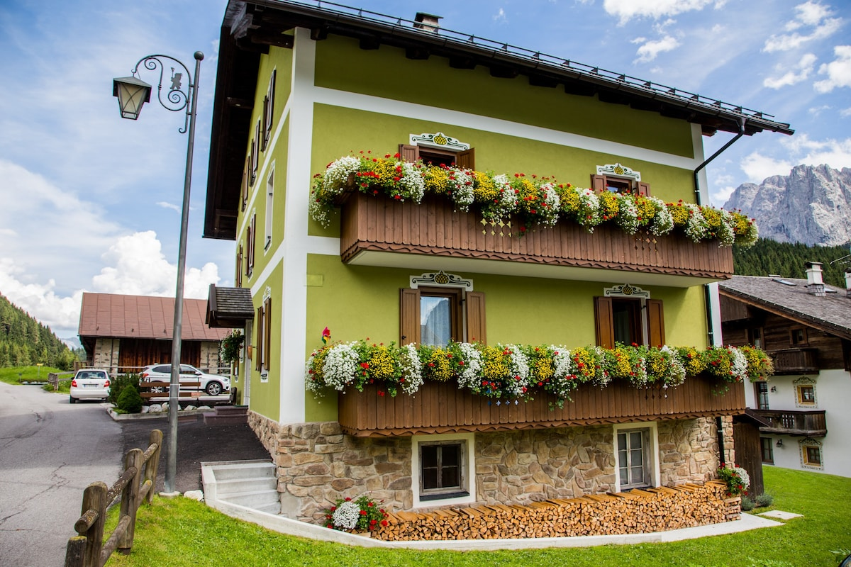 The cost of apartments in sappada