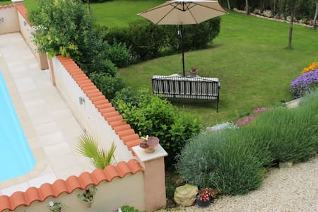 Rural gîte with private pool & lovely views - Apartment