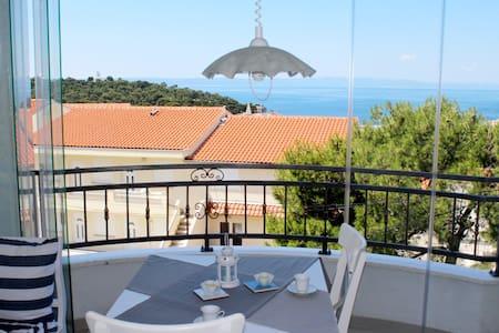 Sea View,Charming Studio Apartment - Adriona 4 - Apartemen