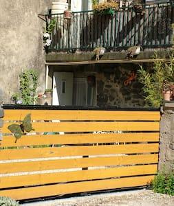 Maison ardéchoise en pierre de lave - House