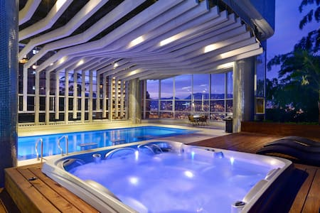 STUNNING PENTHOUSE WITH INDOOR POOL - Medellin