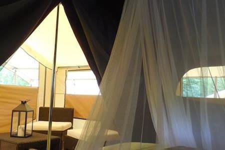 Lodge Romantika idéal pour les amoureux ! - Charny-Orée-de-Puisaye - Banglo
