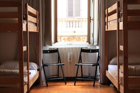 DiscoveryHostel247 - Bed in shared dormitory room - Roma - Hostel