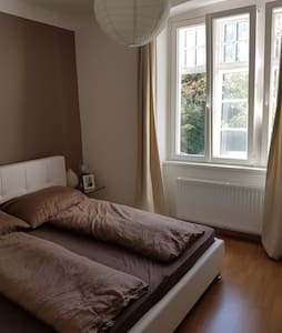 Cosy room between danube and railway station :) - Krems an der Donau - Apartemen