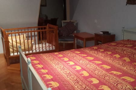 Room for rent for the euro football - Lezennes - Maison