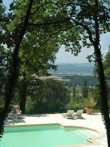 Le Loft, gite au Chateau de Fontblachere - Saint-Lager-Bressac - Apartament