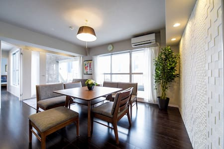 SHINJUKU LARGE/NEW/LUXURY for 9 (2min to station) - Appartamento