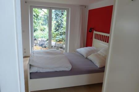 Gartenwohnung, zentral und ruhig - Apartamento