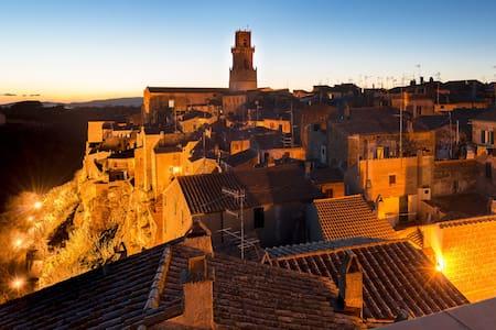 Attico panoramico nell'antico borgo - Apartment
