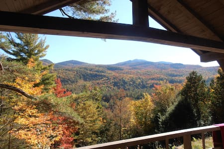 Giant's View Camp: An Adirondack Retreat - Hus