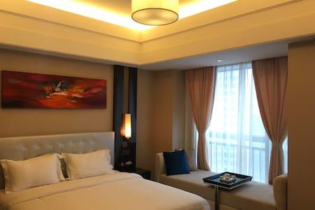 华远国际公寓,半江景房,地铁口,出门就是坡子街小吃街 - Changsha Shi - Wohnung