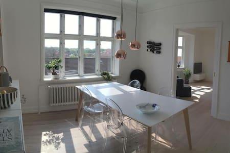 Lovely apartment in popular Trøjborg, Aarhus - Appartement