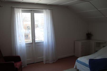 Dachzimmer mit kleinem Balkon - Wetzikon - House