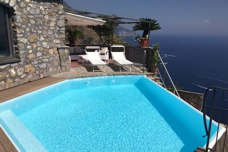 Casa Nene', Amazing sea view, private pool! - Maison