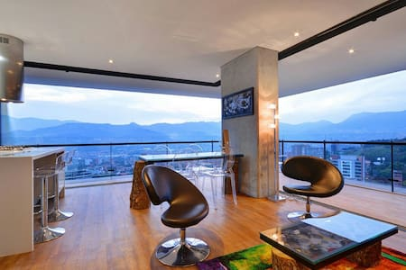 Panoramic , Unique, and Amazing View - Medellín - Apartment